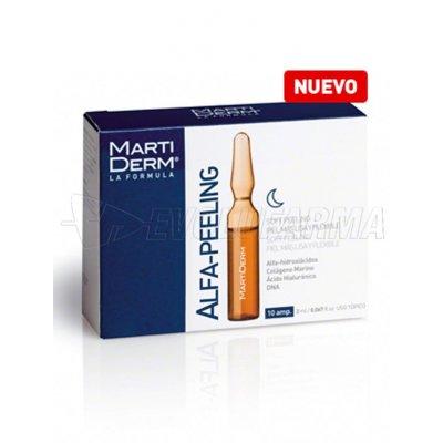 MARTIDERM ALFA PEELING AMPOLLAS. 10 Ampollas