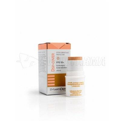 MARTIDERM DSP-COVER FPS 50+. Stick 4 ml.