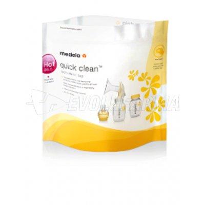 MEDELA BOLSAS PARA MICROONDAS REUTILIZABLES QUICK CLEAN. 5 Unidades