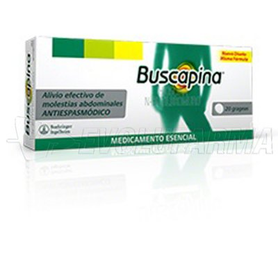 BUSCAPINA 10 mg COMPRIMIDOS RECUBIERTOS , 60 comprimidos