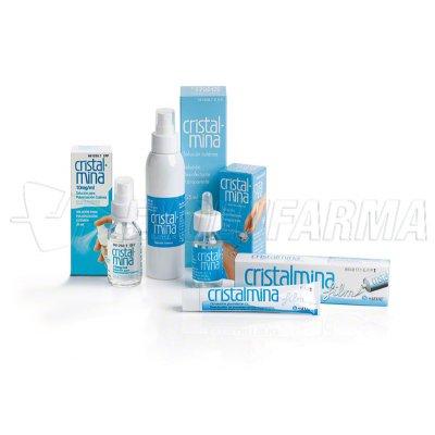 CRISTALMINA 10 mg/ml SOLUCION PARA PULVERIZACION CUTANEA, 1 frasco de 125 ml