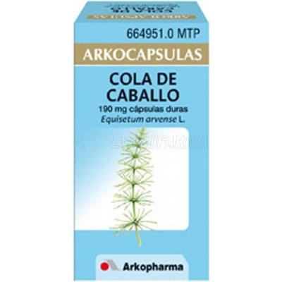 COLA DE CABALLO ARKOPHARMA cápsulas duras , 50 cápsulas