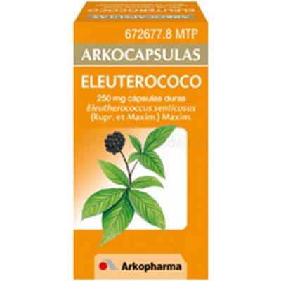 ARKOCAPSULAS ELEUTEROCOCO 250 mg CAPSULAS DURAS, 48 cápsulas