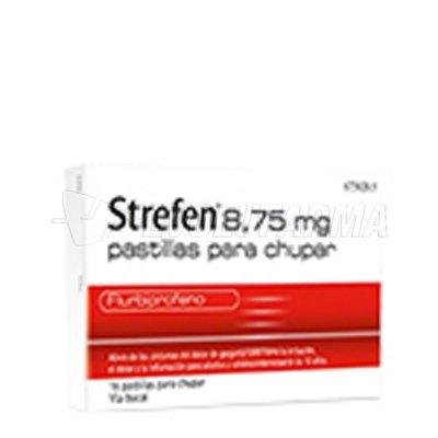 STREFEN 8,75 mg PASTILLAS PARA CHUPAR SABOR MIEL Y LIMON , 16 pastillas