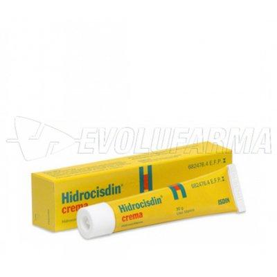 HIDROCISDIN 5 mg/g CREMA, 1 tubo de 30 g