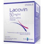LACOVIN 50 mg/ml SOLUCIÓN CUTÁNEA , 4 frascos de 60 ml