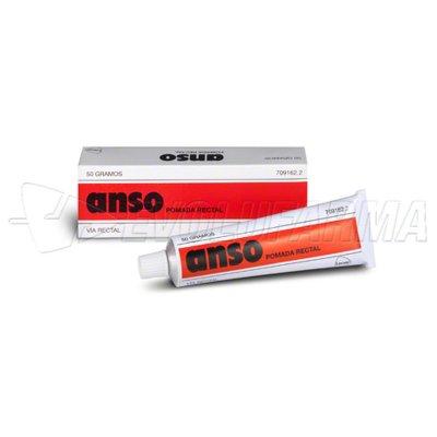 ANSO POMADA RECTAL, 1 tubo de 50 g