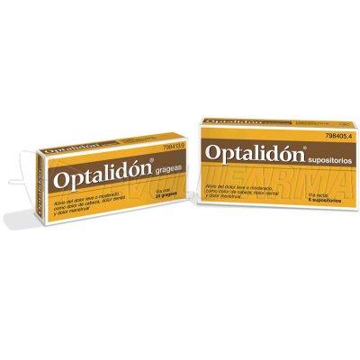 OPTALIDON SUPOSITORIOS, 6 supositorios