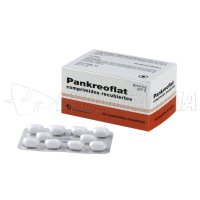 PANKREOFLAT GRAGEAS, 50 comprimidos