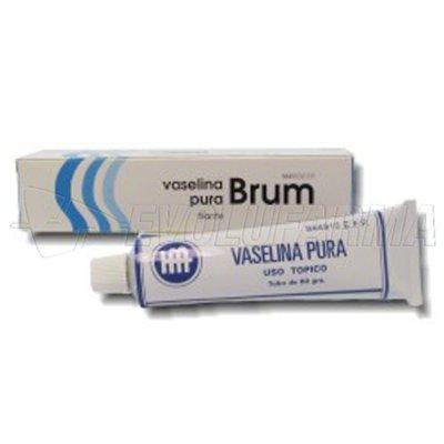 VASELINA PURA BRUM POMADA 1 tubo de 60 g