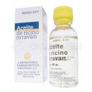 ACEITE RICINO ORRAVAN 1mg/ml LIQUIDO ORAL , 1 frasco de 25 g