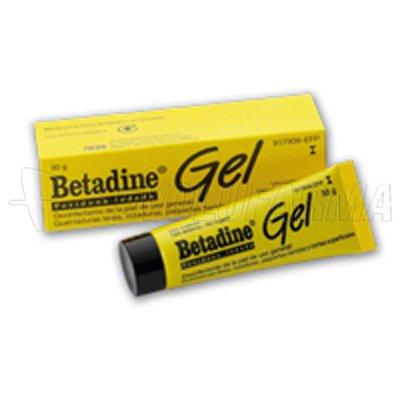 BETADINE GEL 100 MG/G GEL , 1 tubo de 30 g