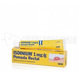 ISDINIUM 1 mg/g POMADA RECTAL , 1 tubo de 30 g