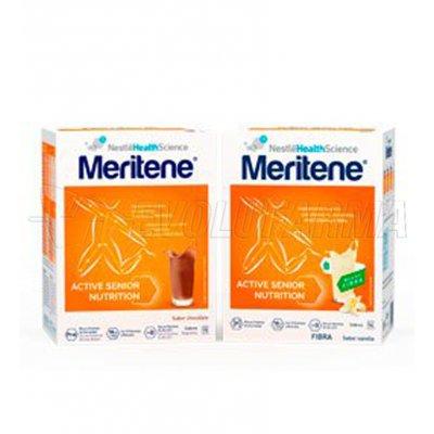 MERITENE BATIDOS CHOCOLATE. 15 sobres de 30 g