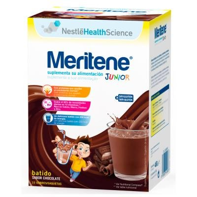 MERITENE JUNIOR 15X30 G CHOCOLATE (DI)