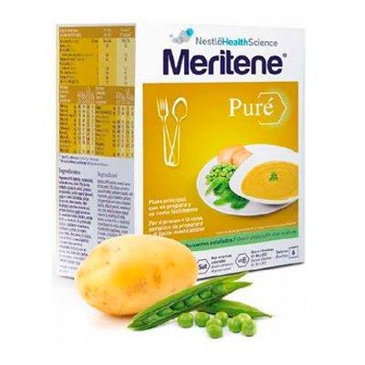 MERITENE PURE GUISANTES ESTOFADOS 450 G