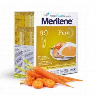 MERITENE PURE POLLO PATATAS Y ZANAHORIAS 450 G