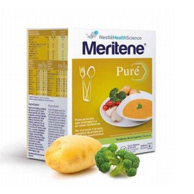 MERITENE PURE VERDURAS DE LA HUERTA 450 G