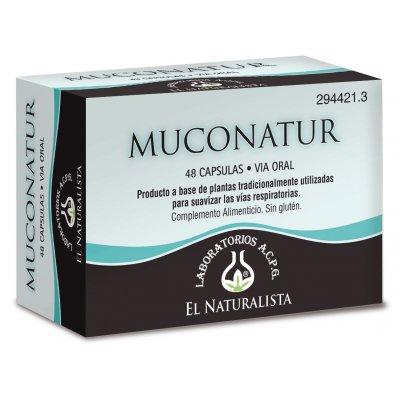 MUCONATUR  EL NATURALISTA  48 CAPS