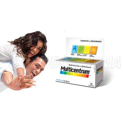 MULTICENTRUM COMPRIMIDOS EFERVESCENTES. 20 Comprimidos
