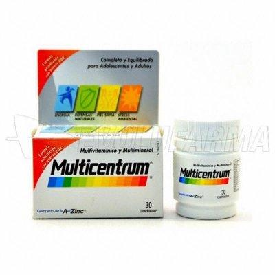 MULTICENTRUM LUTEINA. 30 Comprimidos.