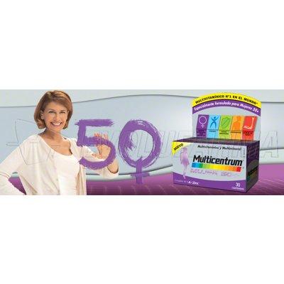 MULTICENTRUM MUJER 50+. 30 Comprimidos
