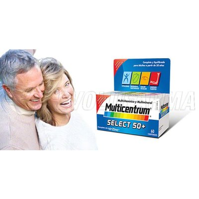 MULTICENTRUM SELECT 50+. 30 Comprimidos