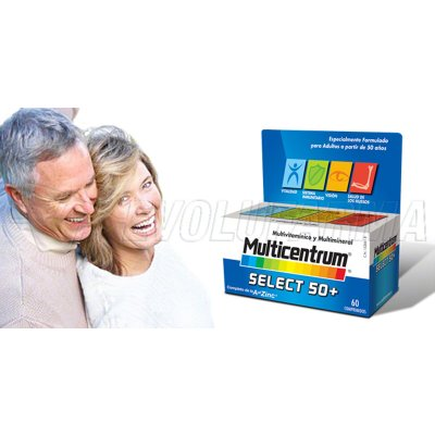 MULTICENTRUM SELECT 50+. 90 Comprimidos
