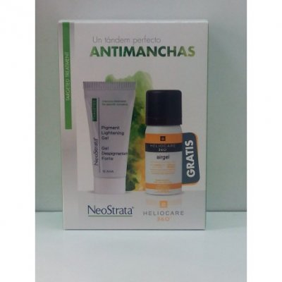 NEOSTRATA GEL DESPIG FORTE + HELIOCARE 360 AIRGE