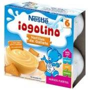 NESTLE IOGOLINO DE GALLETA 100 G X 4 U