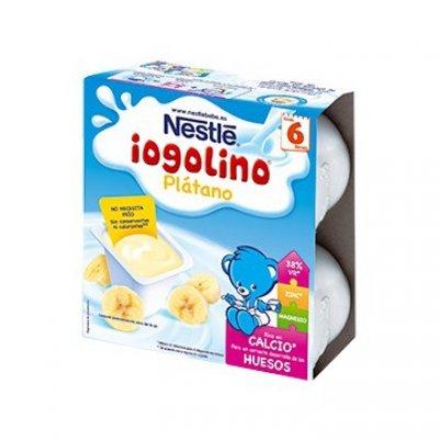 NESTLE IOGOLINO DE PLATANO 100 ML 4 U