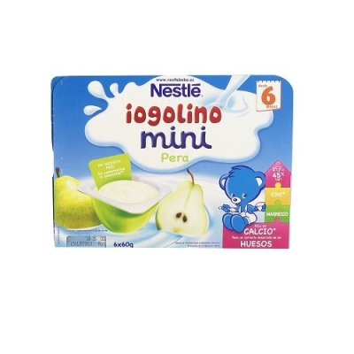 NESTLE IOGOLINO MINI PERA  60 G 6 TARRINAS