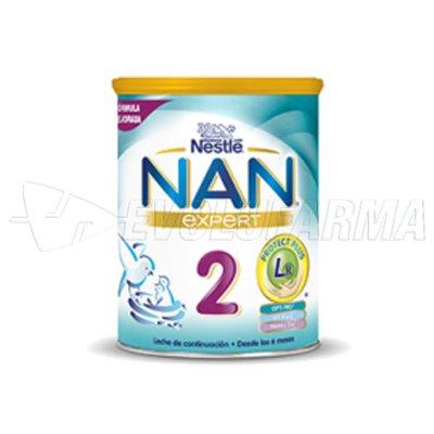 NESTLE NAN 2. Bote de 800 g