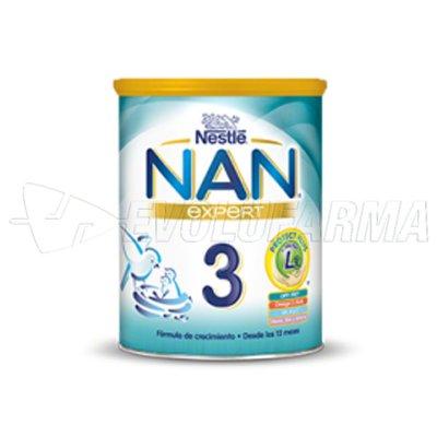 NESTLE NAN 3. Bote de 800 g