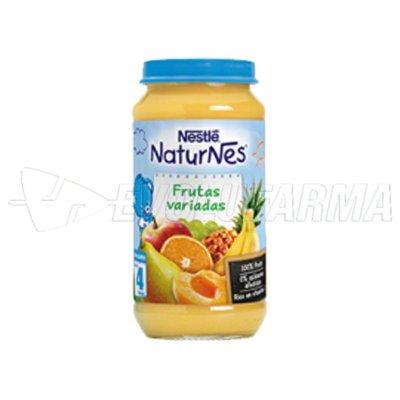 NESTLÉ NATURNES FRUTAS VARIADAS. Tarro de 250 g