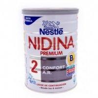 NIDINA LECHE CONFORT 2 AR 800 G
