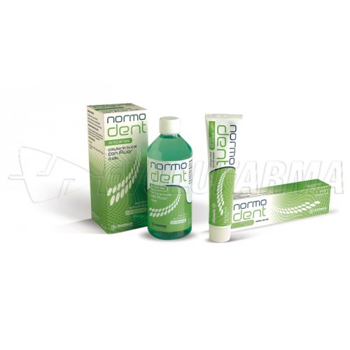 NORMODENT ANTICARIES COLUTORIO. 500 ml