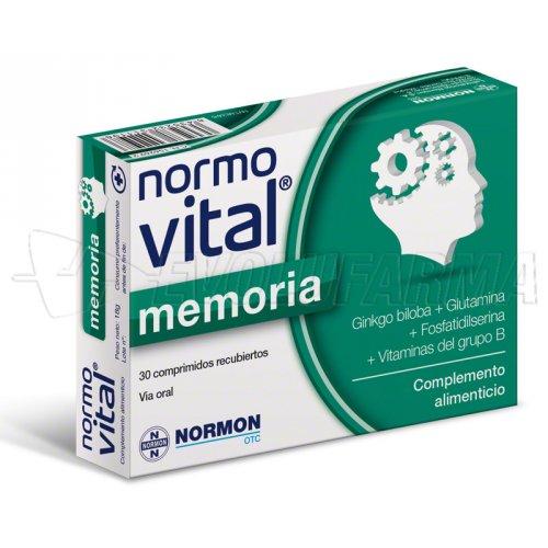 NORMOVITAL MEMORIA. 30 Comprimidos