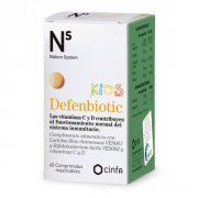 NS DEFENBIOTIC KIDS 60 COMPRIMIDOS MASTICABLES