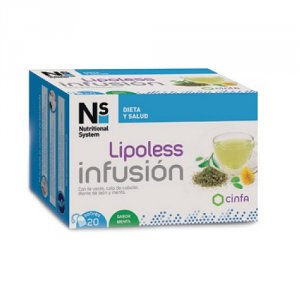 NS LIPOLESS INFUSION  20 SOBRES