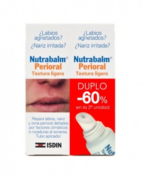 NUTRABALM PERIORAL DUO TEXTURA LIGERA 10 ML