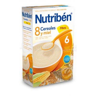 NUTRIBEN 8 CEREALES Y MIEL FIBRA, 300g