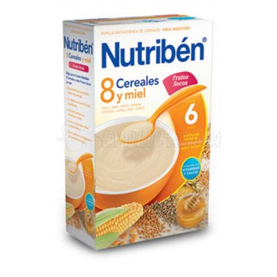 NUTRIBEN 8 CEREALES Y MIEL FRUTOS SECOS, 600g