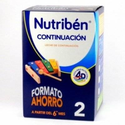 NUTRIBEN CONTINUACION 1200 GR.
