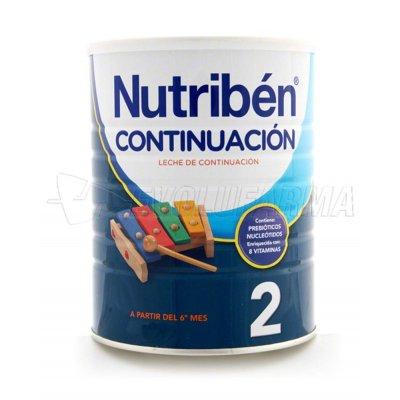 NUTRIBEN CONTINUACIÓN 2. Envase de 800gr