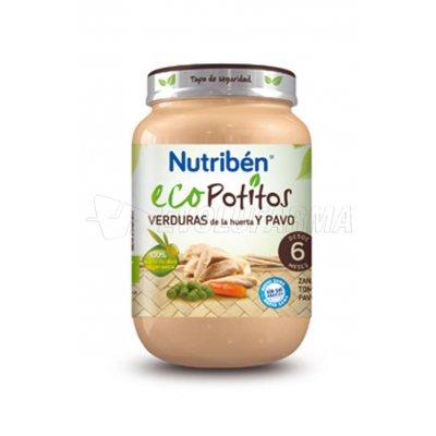 NUTRIBEN ECOPOTITO PAVO CON VERDURAS, 200g