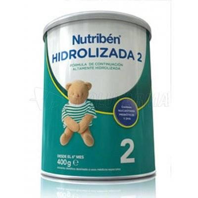NUTRIBEN HIDROLIZADA 2, 400g