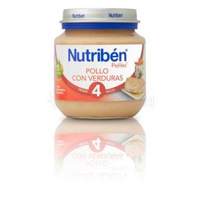 NUTRIBEN POTITO INICIO POLLO CON VERDURAS, 130g