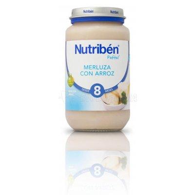 NUTRIBEN POTITO MERLUZA CON ARROZ, 250g