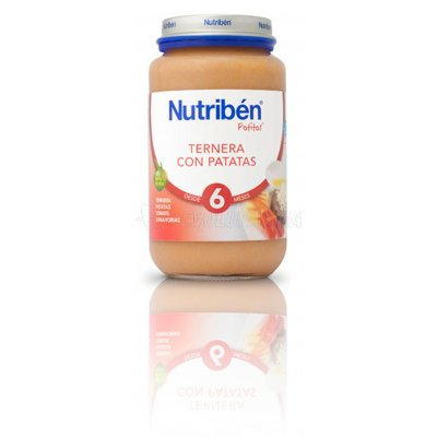 NUTRIBEN POTITO TERNERA CON PATATAS, 250g